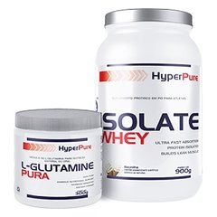 COMBO HP CLASSIC MUSCLE ISOLATE WHEY 900G + L-GLUTAMINA PURA 300G na internet