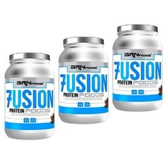 COMBO 3x WHEY PROTEIN FUSION FOODS 900G