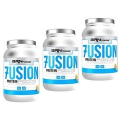 COMBO 3x WHEY PROTEIN FUSION FOODS 900G na internet