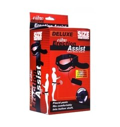 Arnés con Vibro Erection Deluxe Assist Hollow Strap On