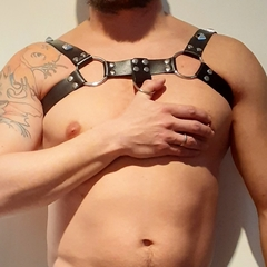Arnés Pechera de Hombre Leather en internet