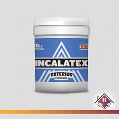 Pintura Látex Exterior INCALATEX 10 L.