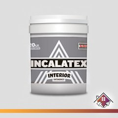 Pintura Latex Interior Antihongos INCALATEX 10 L