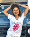 Remera escote V The Rolling Stones tour