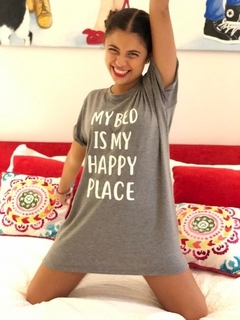 Camisón My bed is my happy place (Outlet)