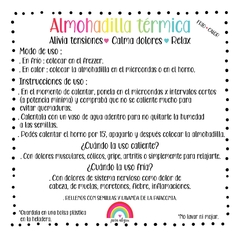 Almohadilla térmica You are your own rainbow - comprar online