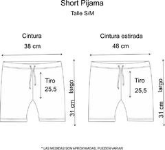 Pijama Short Be Free (Solo) (Outlet) - comprar online
