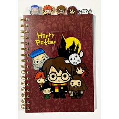 Caderno Personagens Harry Potter