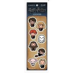Adesivos Harry Potter Chibi Collection