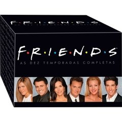 Box Coleção Friends - As Dez Temporadas Completas (40 Dvds)