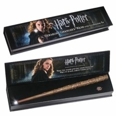 Varinha que acende Hermione (illuminating wand) - Harry Potter