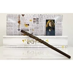 Varinha Hermione Granger Caixa Branca por Noble Collection