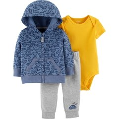trio carters campera body pantalon