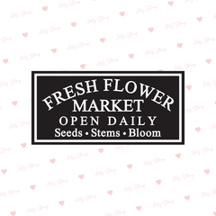 A007 - Fresh flower market