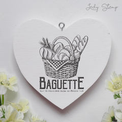 C009 - Baguette - Lady Stamp