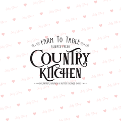 C054 - Country Kitchen Peque