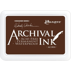 Almohadilla de Tinta Indeleble Ink Color Acorn Ranger Archival - comprar online