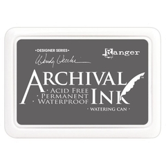 Almohadilla de Tinta Indeleble Ink Color Watering Can Ranger Archival - comprar online