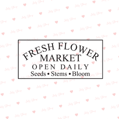 J300 - Fresh flower market