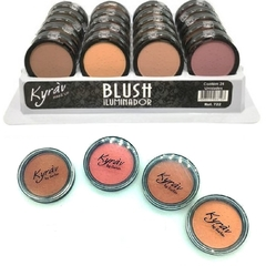 Blush Iluminador Facial Kyrav - Display 24 unidades