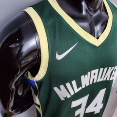 Regata Nike Milwaukee Bucks Personalizada (SILK) na internet