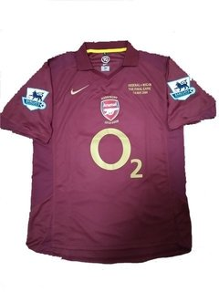 Camisa retrô Arsenal 2005/2006
