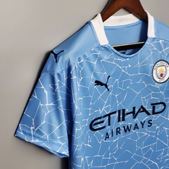 Camisa Manchester City Home 2020/2021 na internet