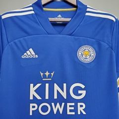 Camisa Leicester City Home 2020/2021 - Gold Sports