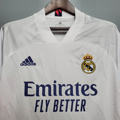 Camisa Real Madrid home 20/21 - Gold Sports