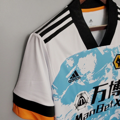 Camisa Wolverhampton Away 20/21 - Gold Sports