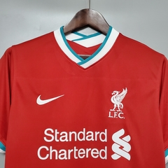 Camisa Liverpool Home 2020/2021 - Gold Sports