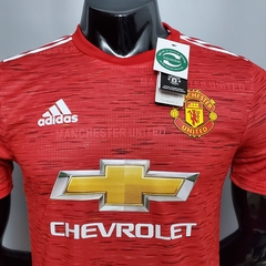 Camisa Manchester United Home PLAYER 2020/2021 na internet