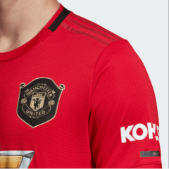 Camisa Manchester United Home 2019/2020 na internet