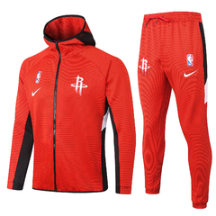 Jaqueta Conjunto Houston Rockets Therma Flex Showtime