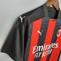 Camisa AC Milan 2020/2021 - Gold Sports