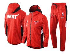 Jaqueta Conjunto Miami Heat Therma Flex Showtime