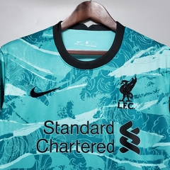 Camisa Liverpool away 2020/2021 - Gold Sports