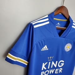 Camisa Leicester City Home 2020/2021 na internet