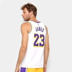 "Regata Nike Swingman Los Angeles Lakers ""James"" n°23 - comprar online"