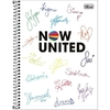 Caderno 1x1 2021 Now United 80fls Tilibra