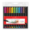 Caneta hidrográfica supersoft brush 10 cores faber-castell