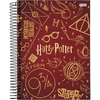 Caderno universitário capa dura 15X1 300FL Harry Potter