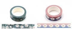 Washi tape margarida 15mmx10m