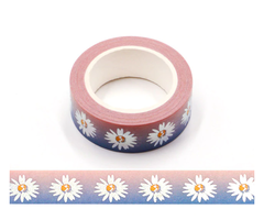 Washi tape margarida 15mmx10m - comprar online