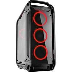 Gabinete Gamer Cougar Gaming Panzer Evo Black Tempered Glass Full Tower C/ Janela - 106AMT0001-02