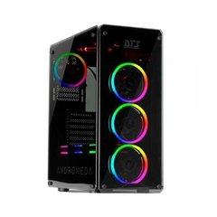Gabinete Gamer Dt3 Sports Gaming Andromeda Preto Vidro Temperado Mid Tower C/Janela - 11011-4