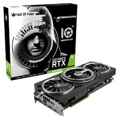 Placa De Vídeo Galax Nvidia Geforce Hof 10th Anniversary Edition Black Teclab Rtx 2080 Super 8gb Gddr6 256 Bits - 28ISL6UC53HT