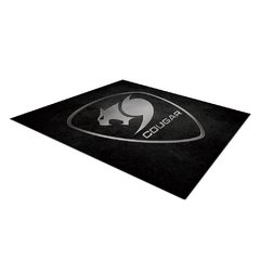 Tapete Gamer Cougar Gaming Command Preto Speed 110cm X 110cm X 4mm - 3MCOMFMB.0001