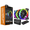 Fan Gamer Cougar Gaming Vortex Hpb 120 Pwm 3 X 120mm C/ Controle Rgb - 3MHPBKIT.0001