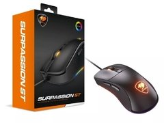 Mouse Gamer Cougar Gaming Esports Surpassion St Rgb Black Edition 3.200 Dpi Ópticos - 3MSSTWOB.0001